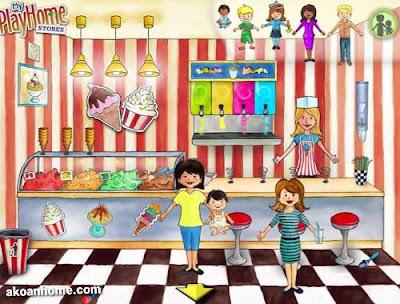 تحميل لعبة ماي بلاي هوم البيت My PlayHome كل الاجزاء ماي بلاي هوم البيت , السوق