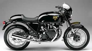 Design proposal for a modern Vincent motorcycle.