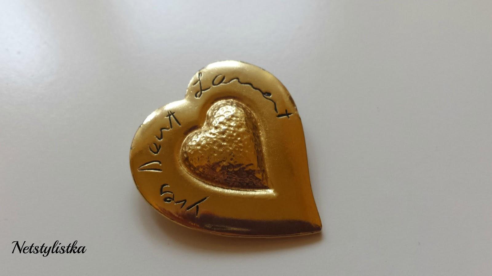 złota broszka vintage Yves Saint Laurent, biżuteria vintage, gdzie kupować biżuterię vintage