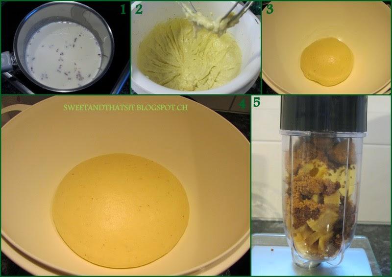 Lemon Cardamom Almond Cake