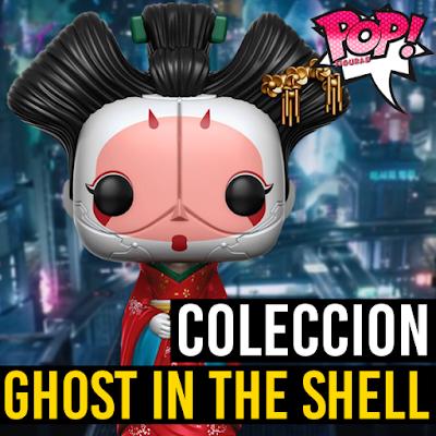 Lista de figuras funko pop de Funko POP Ghost in the Shell