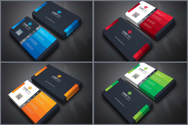 04 Best Business Cards Design PSD Templates 2020 ...