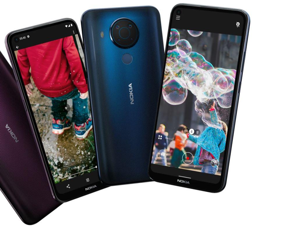 Harga dan Spesifikasi Nokia 5.4 RAM 6GB ROM 64GB Terbaru di Indonesia Bertenaga Snapdragon 662