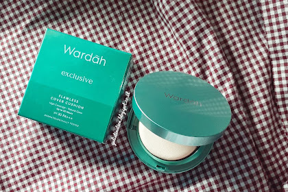 REVIEW : Wardah Exclusive Flawless Cover Cushion (03 Sandy Beige)