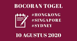 Bocoran Togel SGP 10 Agustus 2020