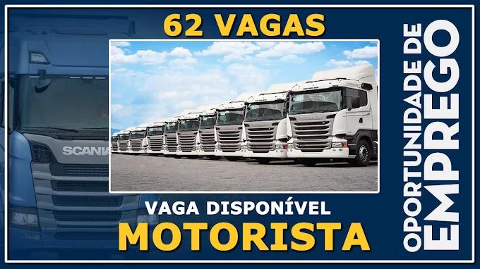 Setcepar Transportes abre 62 vagas para Motorista carreteiro