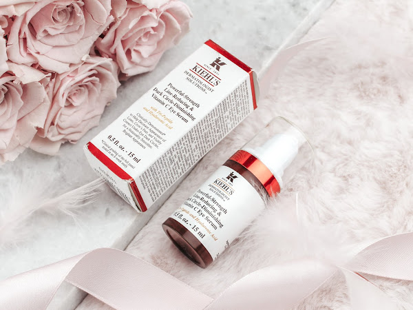 Kiehl's Powerful-Strength Line-Reducing & Dark Circle-Diminishing Vitamin C Eye Serum.