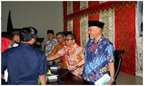 Wako Padang Sambut Baik Sosialisasi Empat Pilar Dari Anggota DPR RI Hermanto