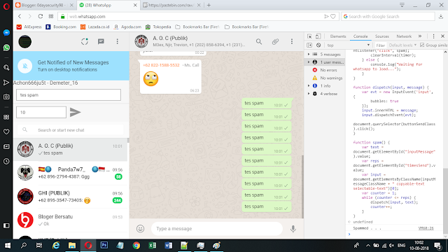 Chat On Test
