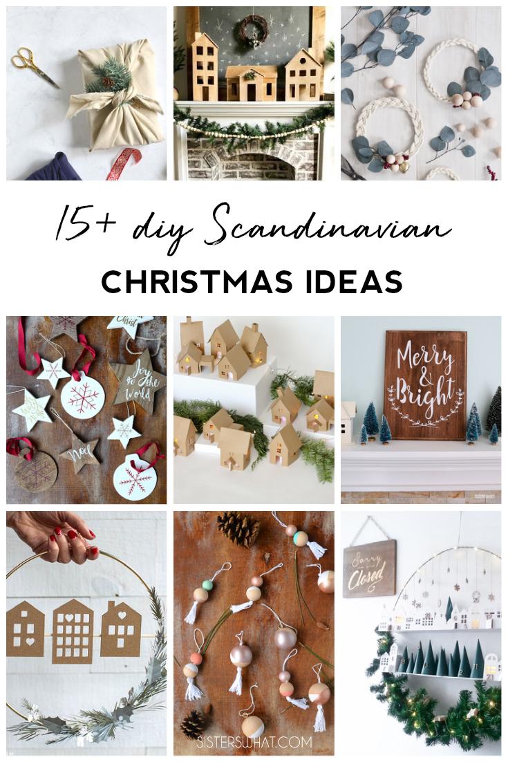 diy Scandinavian Christmas Decor