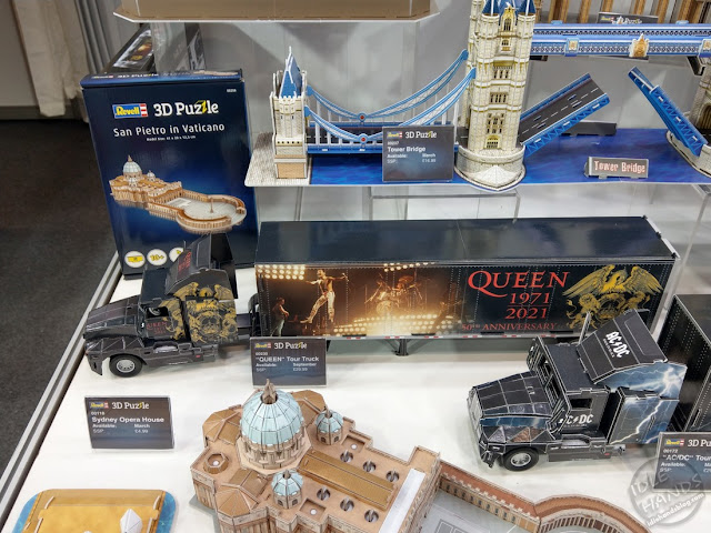 Toy Fair 2020 UK Revell Model Kits Rock Bands Queen
