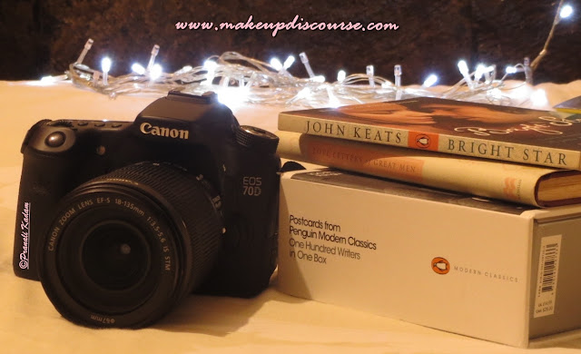 My New Camera Canon 70D for Beauty Blogging: Bokeh Photography, Literary Love-Letters and the rest.