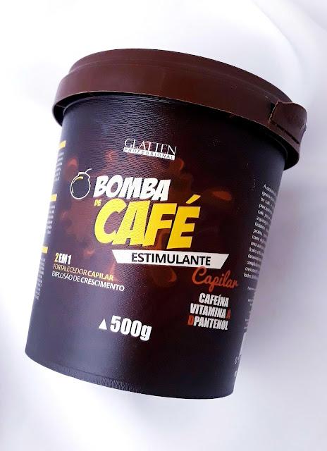 Máscara Bomba de Café Estimulante 500g Glatten