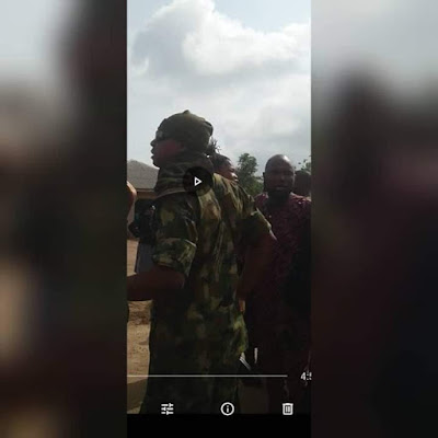 Photos: Soldiers allegedly open fire on TASCE staff protesting 30 months unpaid salaries
