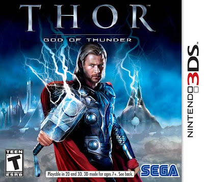 Thor God of Thunder Decrypted 3DS USA