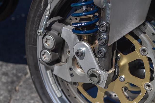 Julian Farnam Dirtbag Rat Yamaha Banshee RZ350 Front Wheel