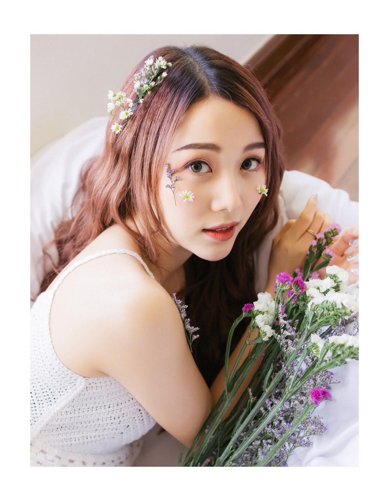 Thailand beautiful model Popor Saechur with photo album Little Princess - Picture 11