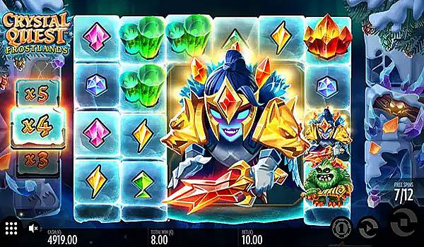 Main Gratis Slot Indonesia - Crystal Quest Frostlands (Thunderkick)
