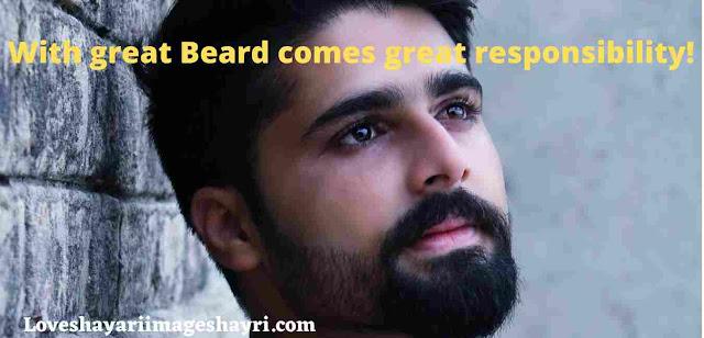 beard lover whatsapp status