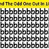 केवल Geniuses ही सभी 4 चित्रों में से Odd अक्षरों को देख सकते हैं