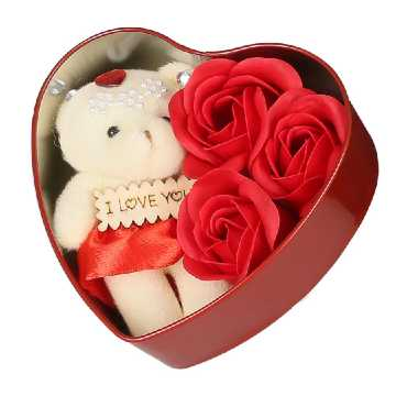 Valentines Day Teddy Love Gift In Bengali
