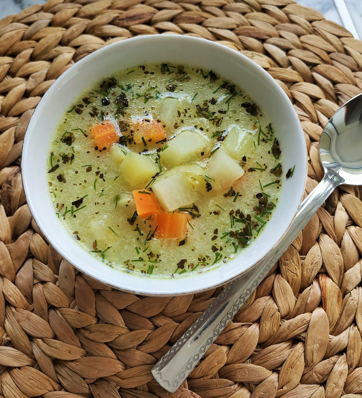 Zupa z kalarepą