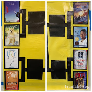 Book Madness: Details for Setup and Implementation - close-up of student choices