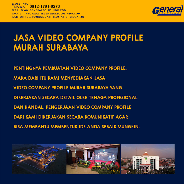 Specialist Jasa Video Profile Surabaya