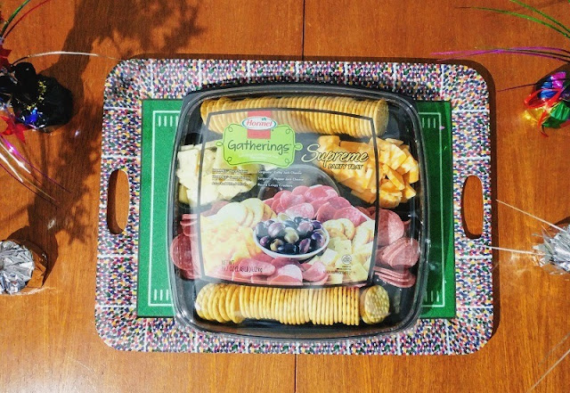 #ad #hormel partytray readymade meat and cheese appetizers