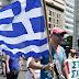 Hundreds of striking Greek sanitation workers end protest over jobs as trash piles grow in heatwave