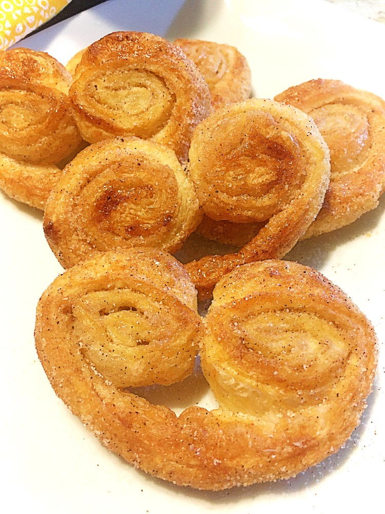 Orejas| Sweet Puffy Palmiers
