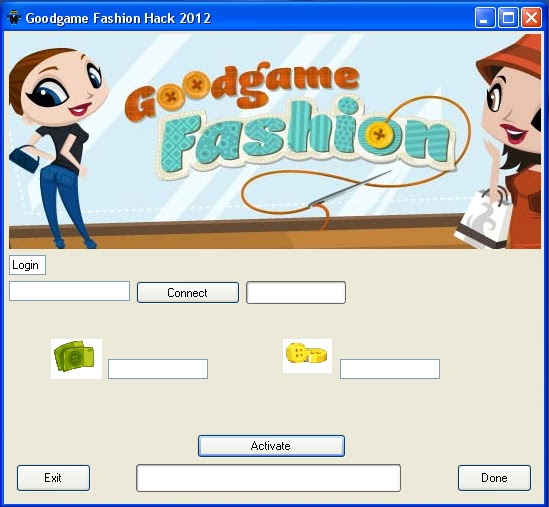 Hacks Cheats Download By RevHacks Team: Goodgame Fashion