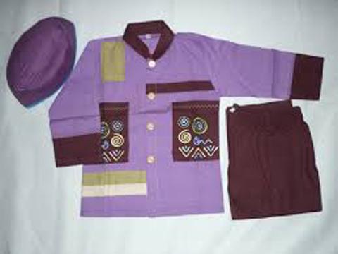 desain baju muslim anak tanah abang
