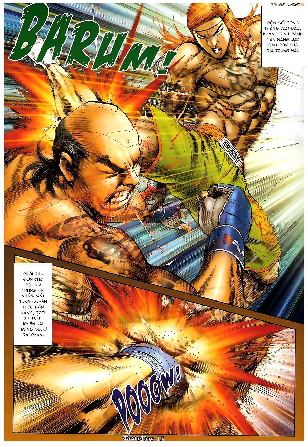 Người Trong Giang Hồ - Chapter 1253: Đánh gục Kim Mông Không - Pic 14