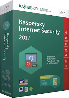 Kaspersky Internet Security 2017 + Serial Ativador