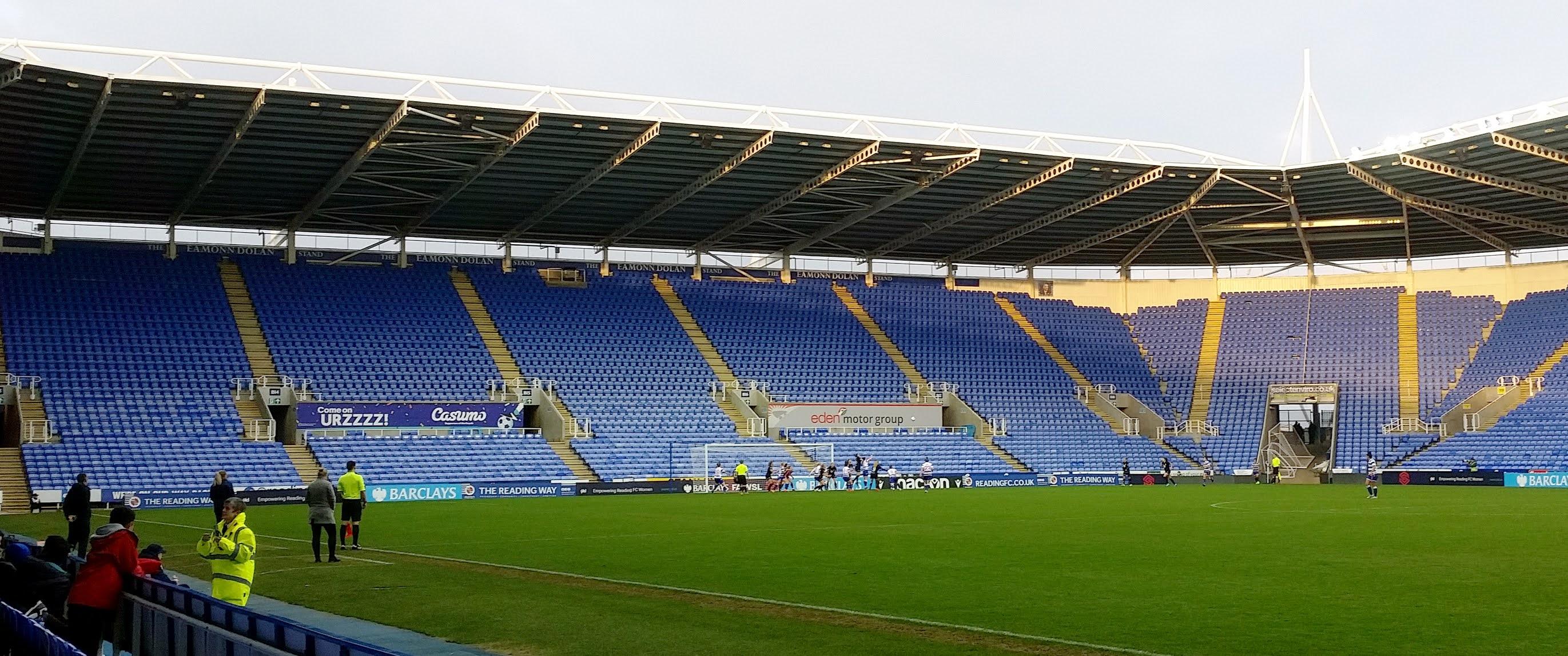 Reading Women about to score against Bristol City Women