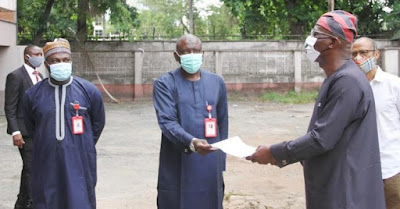 EFCC hands over Diezani's forfeited property to Lagos for Isolation Centre