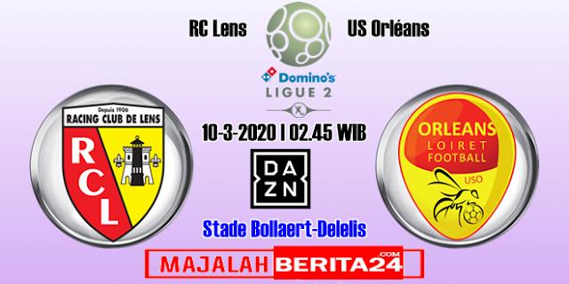Prediksi RC Lens vs US Orleans