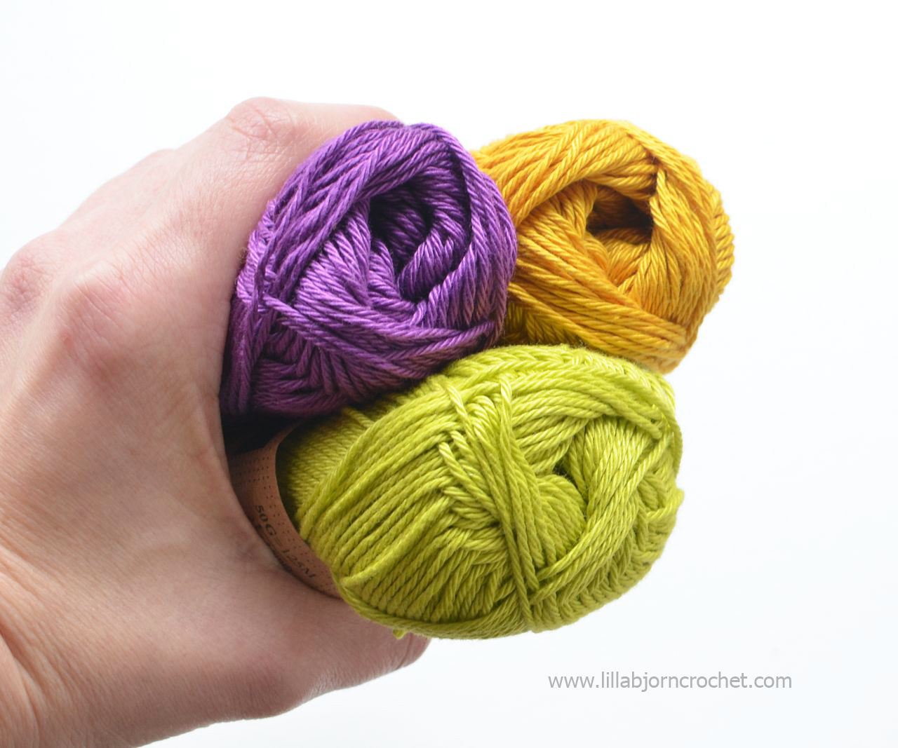 Which yarn is the best choice for overlay crochet - review on Catona yarn (from Scheepjes) by Lilla Bjorn Crochet