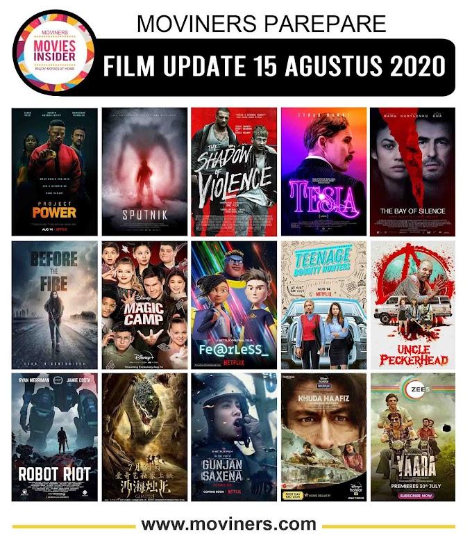 FILM UPDATE 15 AGUSTUS 2020