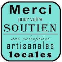 logo artisanat local soutien aux entreprises