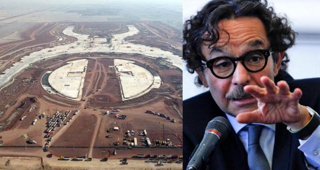"""""""Vamos a reiniciar la construcción del Aeropuerto de Texcoco en 2024"""", Quadri advierte a AMLO ¿Estas de acuerdo?"""
