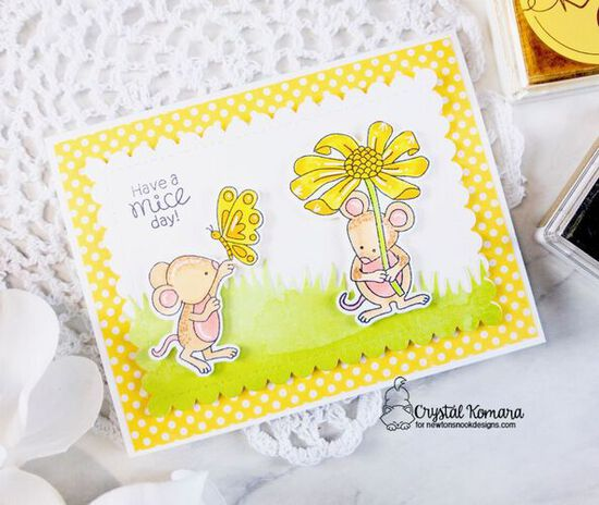 Have a Mice Day by Crystal features Garden Mice by Newton's Nook Designs; #newtonsnook