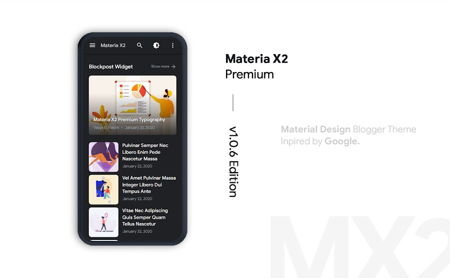 Materia X2 Premium Latest