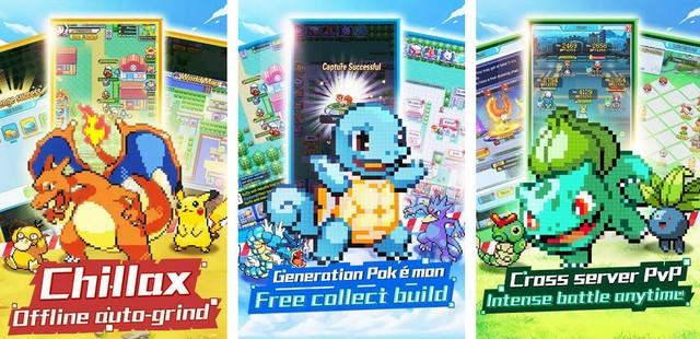 ألعاب بوكيمون Pokémon للأندرويد