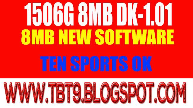 1506G 8MB DK-1.01 SHARP STAR NEW SOFTWARE POWERVU OK