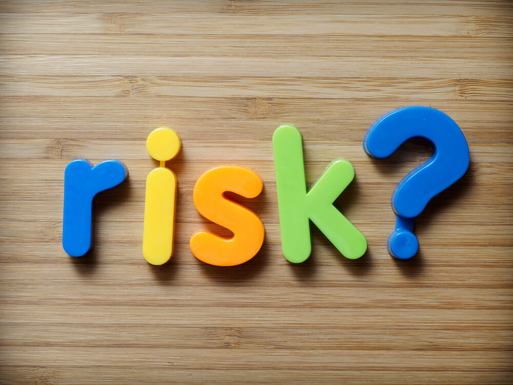 letters form the word risks