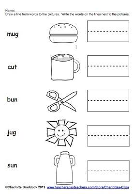 Number Names Worksheets short i sound worksheets : Short U Worksheets For First Grade Free - silent e worksheets for ...