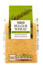A packet of bulger wheat