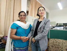 20th May 2015, President PICFA Mrs. Radha Srinivasagopalan  meet with official at Dali Universuty IECD